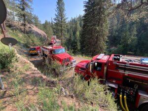 Elk Creek Fire at Work